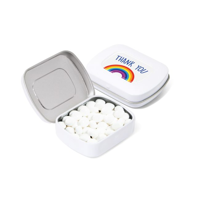 Available Now – Pocket Tin – Rainbow Mints