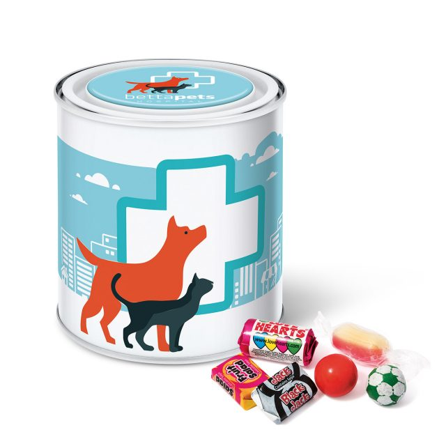 Large Paint Tin – Retro Sweets