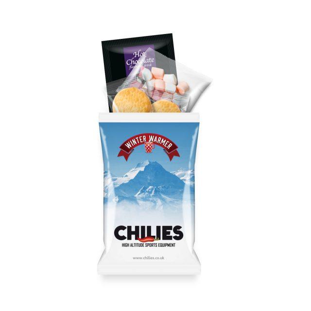Paper Flow Bag – Winter Warmer