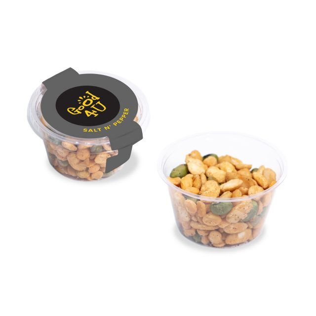 Eco Range – Eco Maxi Pot – Salt & Pepper – Veggie Protein Snacks