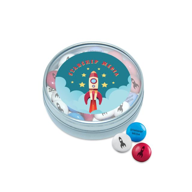 Kalfany – Clear Tin – My M&M's