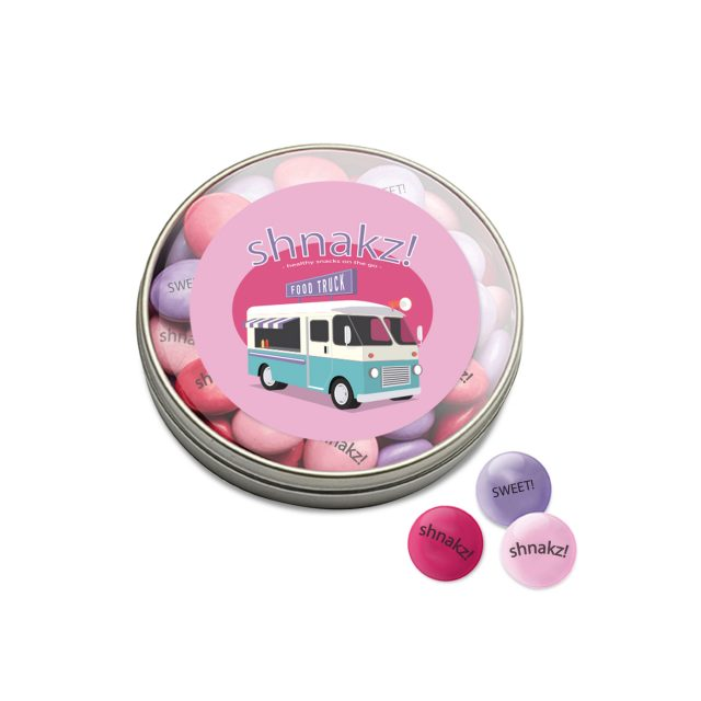 Kalfany – XL Clear Tin – My M&M's