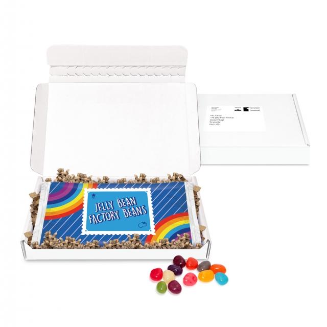 Postal Packs – Midi Postal Box – Jelly Bean Flow Bag – DIGITAL PRINT