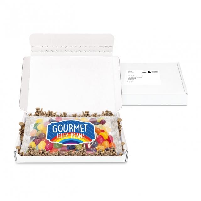 Postal Packs – Midi Postal Box – Jelly Bean Flow Bag – PAPER LABEL